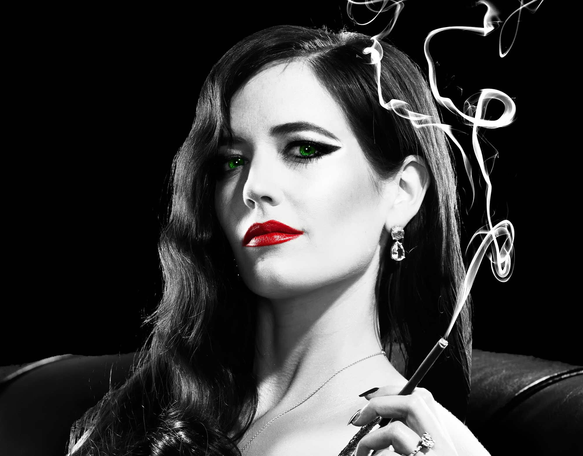 fond ecran Sin City 2 : Eva Green
