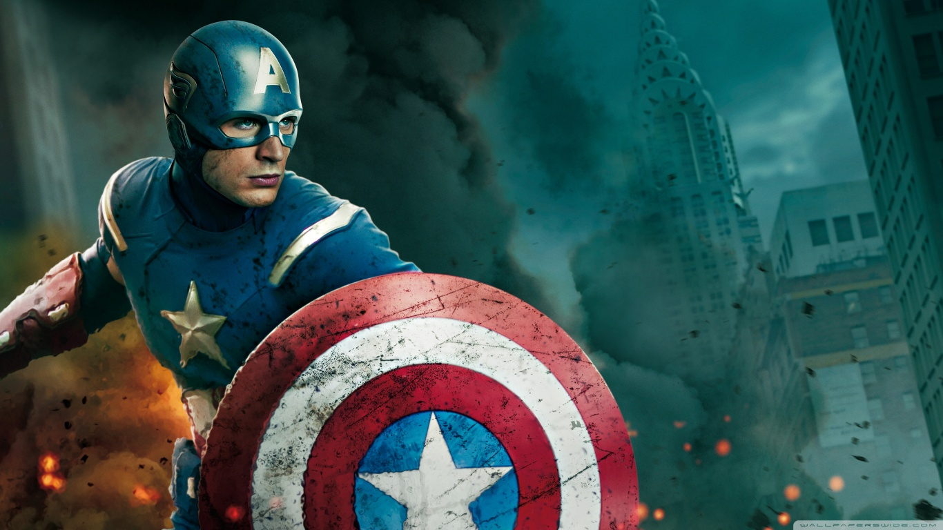 fond ecran The Avengers 2 : Captain America