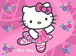 fond ecran Hello Kitty